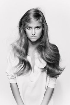Light and soft look for Spring/Summer 2015. Easy to recreate by using Balmain Paris Hair Couture's Ceramic Brushes. Hair by Hester Wernert-Rijn.