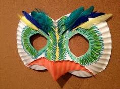Bird mask - simple and effective!