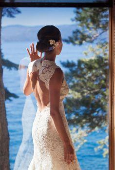Gorgeous Lake Tahoe Wedding on StyleMePretty.com