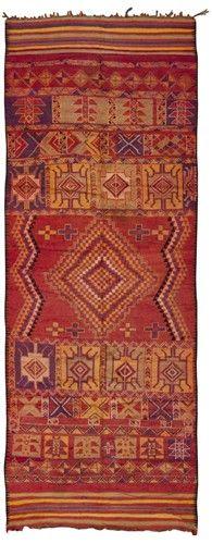 Vintage Moroccan Rug via @VandM.com