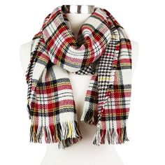Women's Reversible Plaid Wrap Scarf - Sylvia Alexander : Target  http://www.target.com/p/women-s-reversible-plaid-wrap-scarf-sylvia-alexander/-/A-51460334