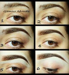 Eyebrow tutorial  by Marisa V
