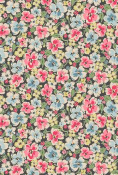 Orchard Bloom | A bold and beautiful full bloom floral coloured in soft dusky shades | Cath Kidston Autumn Winter 2016 |
