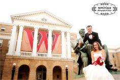 Nothing beats wishing Abe for luck on your wedding day!