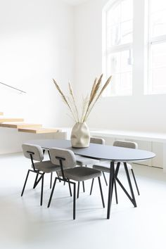 Discover the complete collection of Studio HENK furniture at Haute Living, an authorized dealer of Studio HENK chairs and tables for Chicago and beyond. Dinning Table, Table And Chairs, Dining Chairs, Dining Room, Dining Bench, Tables, Types Of Furniture, Furniture Making, Furniture Design