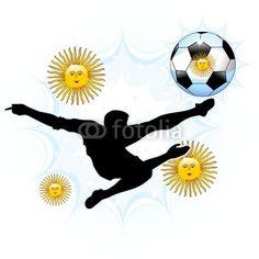 ★ #Argentina #Soccer #Illustrations on #Fotolia ★ by #Bluedarkart   http://bluedarkart.wordpress.com/2014/06/21/argentina-soccer-illustrations/