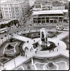 Taksim -1960'lar  #İSTANBUL