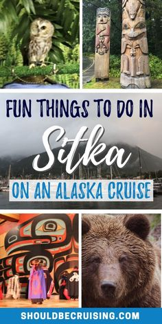 Does your Alaska cruise include a stop in Sitka? Make the most of your port day by experiencing some of the best things to do in Sitka, Alaska. Includes shore excursion ideas for all ages and budgets. Best Cruise, Cruise Port, Cruise Travel, Cruise Vacation, Travel Usa, Travel Tips, Travel Ideas, Travel Destinations, Globe Travel