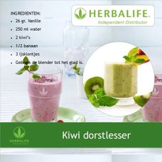 Kiwi dorstlesser #Herbalife