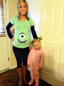 monsters inc costumes pregnant - Google Search
