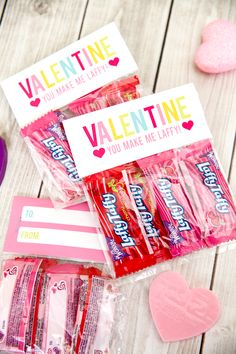 Valentines Free Printables - for sweet Laffy Taffy classroom valentines