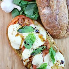 Caprese Garlic Bread has all the fresh flavors of the Salad it's named for, plus the heartiness of a great garlic bread!