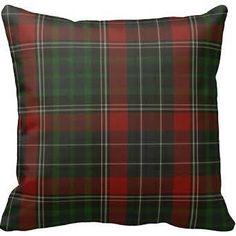tartan pillow - Google Search
