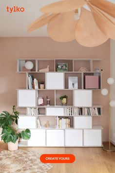 It's time to live better. Bring harmony to your home with a smart, sleek and stylish Tylko shelf. Home Room Design, House Design, Aesthetic Room Decor, Boho Living Room, Home Trends, Closet Designs, Front Door Decor, House Rooms, Room Decor Bedroom