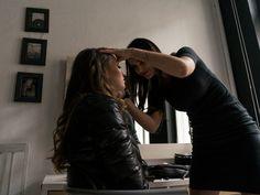makijaż do sesji fotograficznej dla Salony Terpiłowski