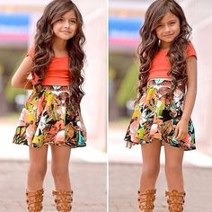 Fashion Children Girls Clothing Set Short-sleeved T-shirt + Floral skirt Toddler Girl Clothing Set Kids Baby Girl Summer Clothes //Price: $17.85 & FREE Shipping //     #trending    #love #TagsForLikes #TagsForLikesApp #TFLers #tweegram #photooftheday #20likes #amazing #smile #follow4follow #like4like #look #instalike #igers #picoftheday #food #instadaily #instafollow #followme #girl #iphoneonly #instagood #bestoftheday #instacool #instago #all_shots #follow #webstagram #colorful #style #swag…