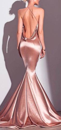 champagne rose gown