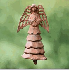 Angel Wind Chime- Perfect for Holiday Decorating and the Christmas Tree!