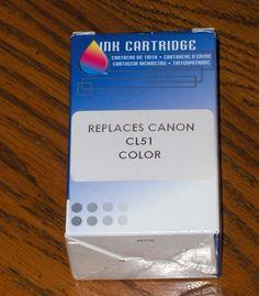 Printer Ink Cartridge Canon CL51 Color