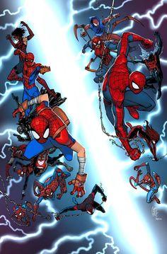 Spider-Verse #1 by Giuseppe Camuncoli *