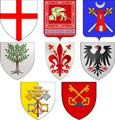Medieval Banner, Family Shield, Crusader Knight, Lord Of Hosts, Mystery Of History, Knights Templar, Family Crest, Coat Of Arms, Banner Design