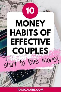 """Here are 10 habits that can help you become one of those couples that """"have it together"""" when it comes to their money — and tips on how to get there Financial Goals, Financial Planning, Investing Money, Saving Money, Early Retirement, Money Management, Gifts For Family, Personal Finance, Frugal"""