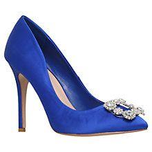 Buy Carvela Lotty Diamante High Heel Court Shoes Online at johnlewis.com