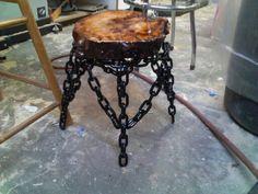 Welding stool