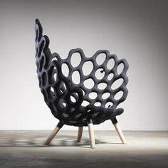 Studio Housen - Textile moulded chair, inflated and filled with polyurethane foam.