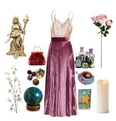 """""""That gypsy lady"""" by thewitchishere ❤ liked on Polyvore featuring Araks, LUISA BECCARIA, NOVICA, Gilbert Albert, Pier 1 Imports and Improvements"""
