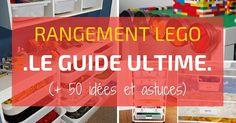Vous cherchez des idées pour le rangement des LEGO ? Découvrez LE GUIDE ULTIME pour ranger les LEGO ! Astuces, conseils et idées à découvrir en PHOTOS !