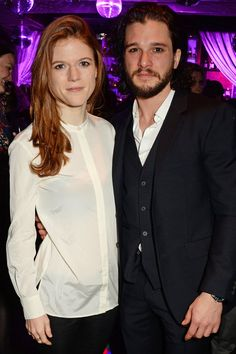 Pin for Later: Kit Harington Gets Support From Friends, Family, and His Best Gal on a Special Night in London