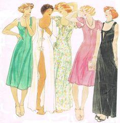 Sewing Pattern 1970s Vintage - Butterick 4509 - John Kloss - Misses' Gown by HappyIFoundIt on Etsy https://www.etsy.com/listing/187177535/sewing-pattern-1970s-vintage-butterick