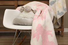 New Baby blankets designed to keep baby cheerful and warm!
