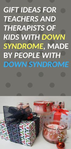 Entrepreneurs with Down syndrome sell great things you can give your child's teacher or therapist. Down Syndrome People, Down Syndrome Kids, Speech Language Pathology, Speech And Language, Your Teacher, Teacher Gifts, Down Syndrome Awareness, Special Needs Kids, Sensory Activities