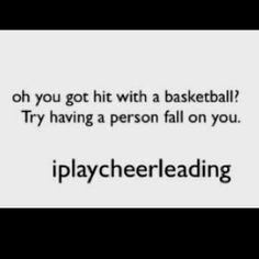 Playing years of both sports; I can promise a person landing on you is by far more painful than a basketball.