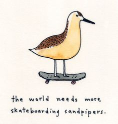 Sandpipers - Signed Print