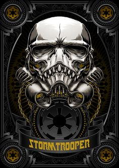 Death Side Series : Darth Vader & Shadow Stormtrooper on Behance
