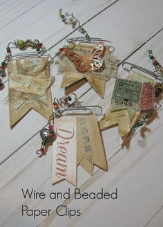 Journal Paper, Journal Cards, Junk Journal, Book Crafts, Paper Crafts, Paperclip Crafts, Paper Clip Art, Handmade Tags, Candy Cards