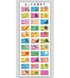 Alfabet obrazkowy - mata edukacyjna Office Supplies