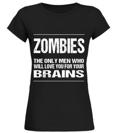 Halloween Shirt Funny Zombie TShirt: Love You For Your Brain