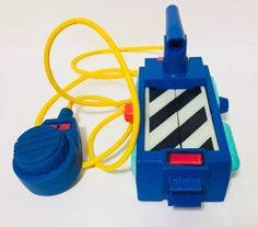 Vintage 1989 The Real Ghostbusters Ghost Trap Kenner With Pedal Works #Kenner