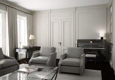 Architekturvisualisierung Salon, 3D, Cinema 4D