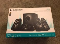 Logitech Surround Sound Speaker Sys on Mercari Logitech Speakers, Surround Sound Speakers, Audio In, Speaker System, Products, Beauty Products