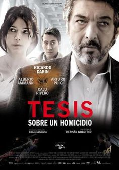 Thesis on a Homicide (Tesis sobre un homicidio) Cinema Movies, Movie Theater, Film Movie, Psychological Thriller Movies, Peliculas Audio Latino Online, Ricardo Darin, Cinema Posters, Movie Posters, Pop Corn