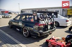#subiesaturday oh yeah and..... TIME ATTACK WAGON FTW! #longrooflife . . . . #subaru #subie #legacy #wagon #wagonmafia #wagonnation #wagonlife #jdm #jdmculture #turbo #bigwing #bigwanggang #timeattack #racecar #tuner #racer #car #cars #carlife #carlifestyle #lowlife #lowered #race #racecarlife