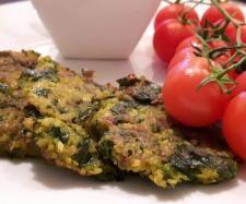 Przepis Placki z batatów ze szpinakiem przez ankczar - Widok przepisu Dania główne z warzyw