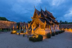 Wat Inthrawat or Wat Ton Kwen in Chiang Mai, Thailand by ANUJAK JAIMOOK on 500px