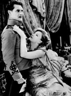 Flesh and the Devil (1926)  Greta Garbo #John Gilbert