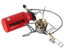 Primus omnifuel ti stove works with gas, gasoline/petrol, diesel, kerosene/paraffin, and even aviation fuel. Camping Stove, Camping Gear, Backpacking Gear, Camping Cooking, Primus Stove, Aviation Fuel, Diesel, Technology, Hunting